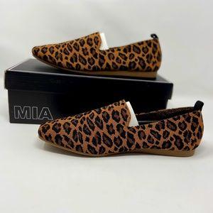 NEW in Box -MIA Yohanna Leopard Knit Shoe Size 9M